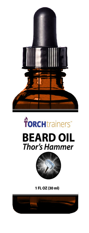 Torch Trainers Beard Oil - Thor's Hammer