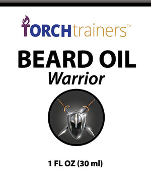 Torch Trainers Beard Oil - Warrior - Case of 24