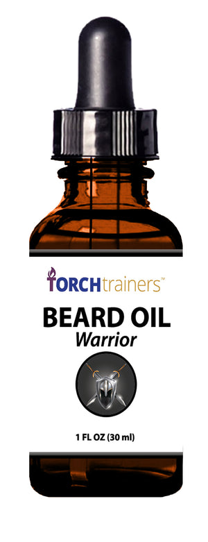 Torch Trainers Beard Oil - Warrior