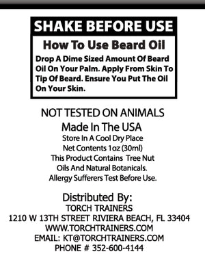 Torch Trainers Beard Oil - Campfie Cody