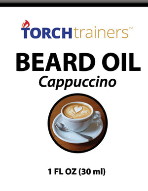 Torch Trainers Beard Oil - Cappuccino - Case of 12
