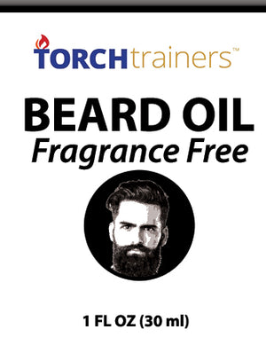 Torch Trainers Beard Oil - Fragrance Free - Case of 12