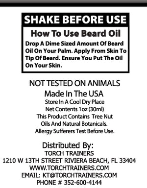 Torch Trainers Beard Oil - Yukon-Pine - Case of 24