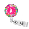 Retractable ID Badge Holder - Adorn Monogram Gifts