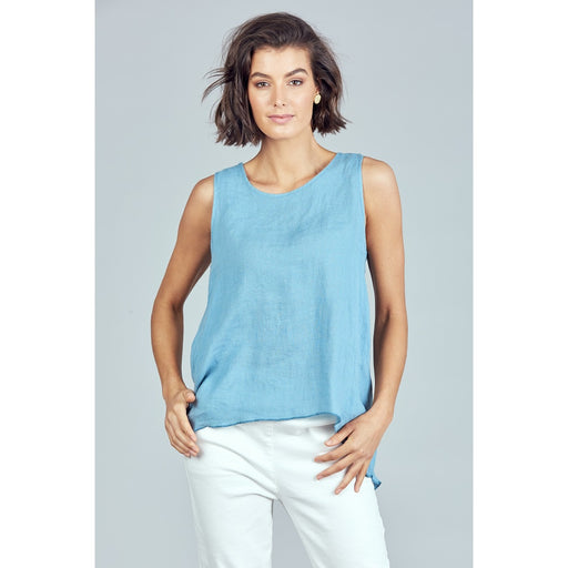 Numinous Top Blue