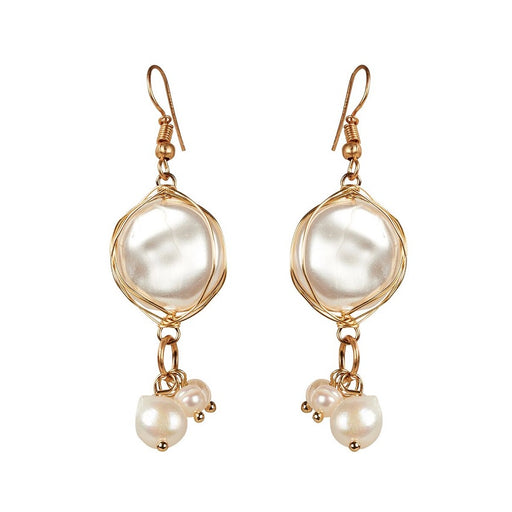 Harper Pearl Drop Earrings