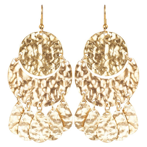 Kruger Disc Earrings