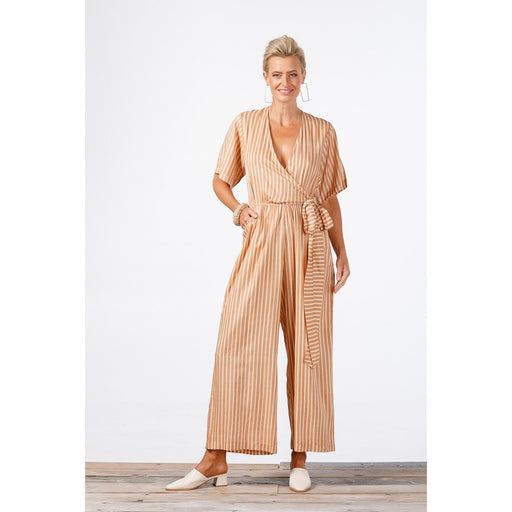 Come Fly With Me Jumpsuit Sahara Stripe