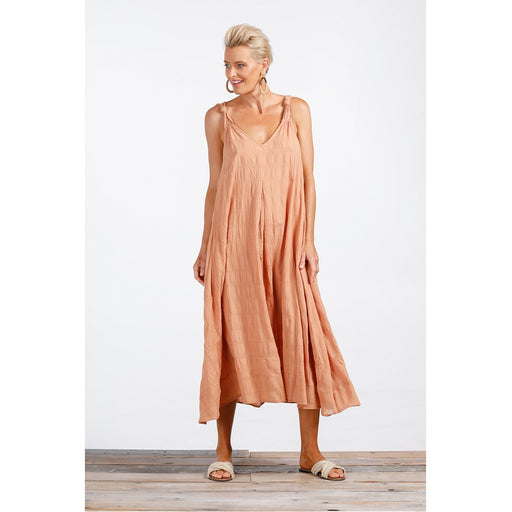 Harbour Dress Cinnamon