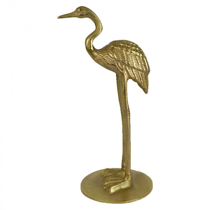 Stork Metal Sculpture