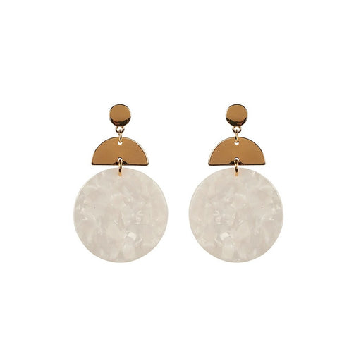 Mahala Drop Earrings Frost