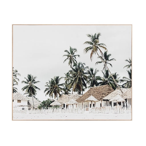 Quiet Island Canvas Print