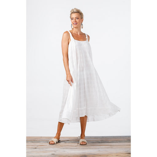 Harbour Dress White