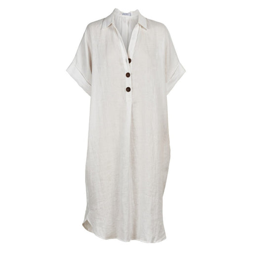 Martinique Shirt Dress Salt