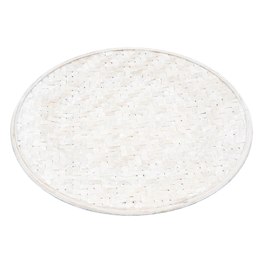 Wattle Bamboo Charger Plate