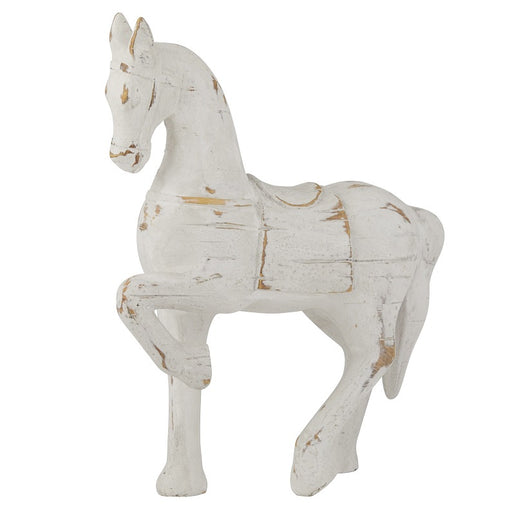 Brandy Horse Sculpture