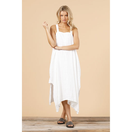 Cefalu Sundress White