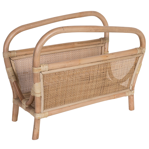 Rattan Newspaper Rack