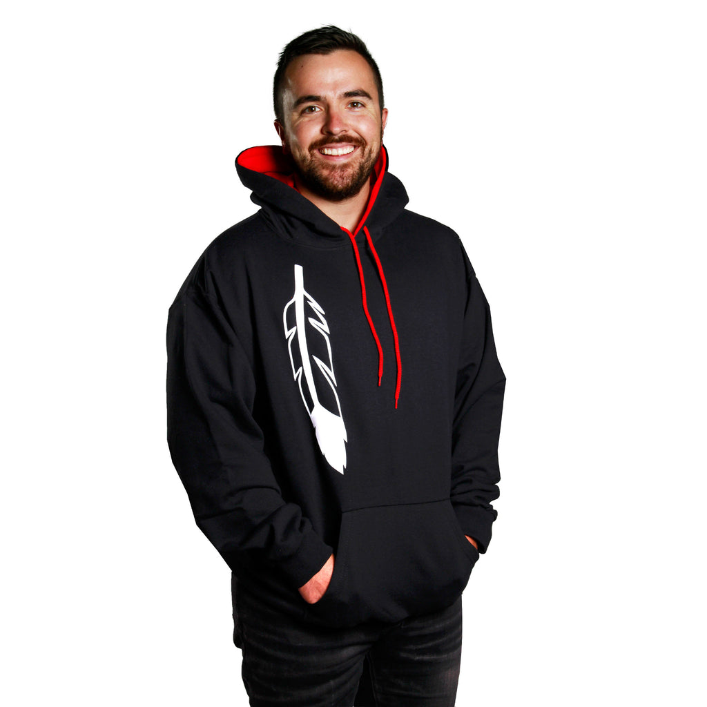 Men's Feather Hoodie