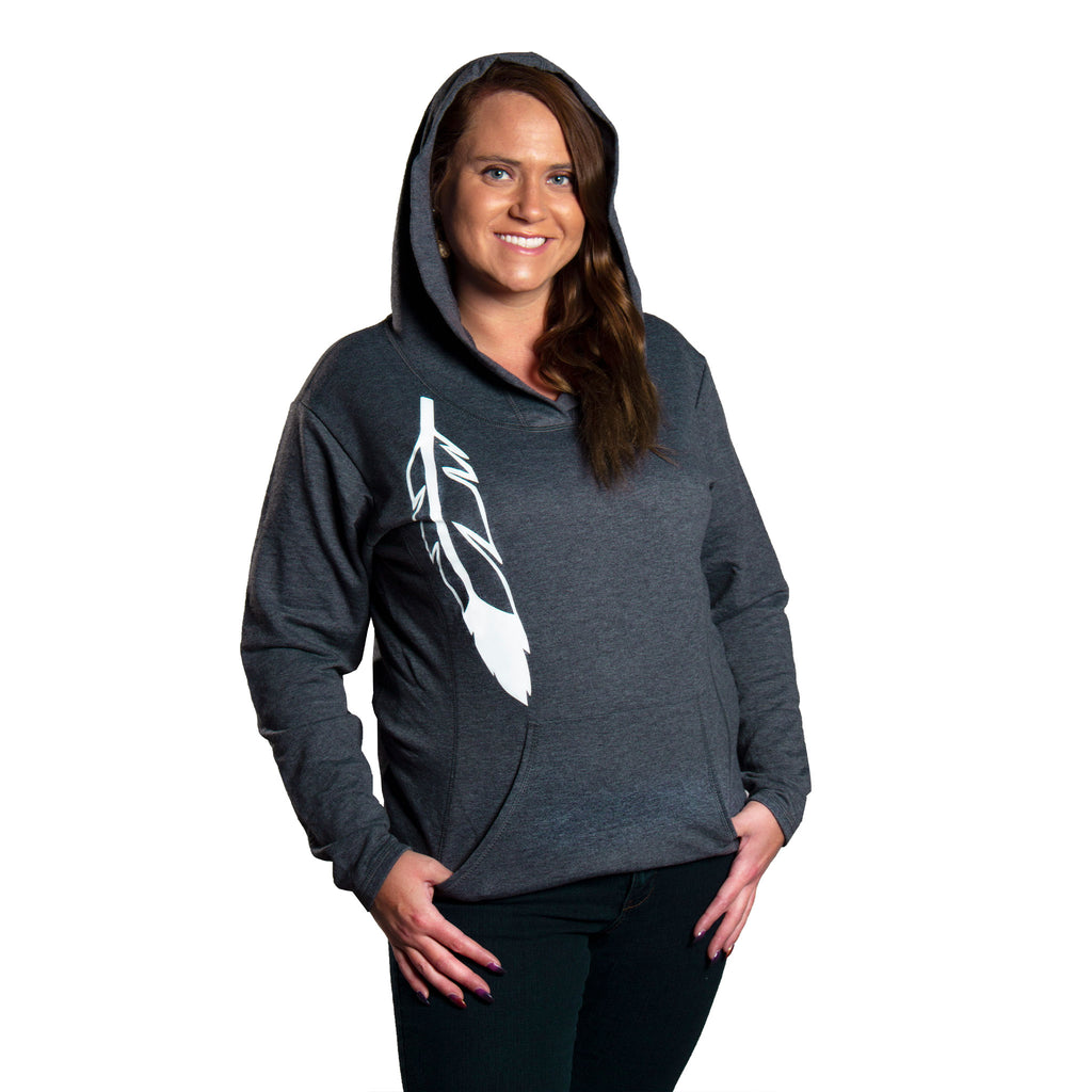 Women's Feather Hoodie