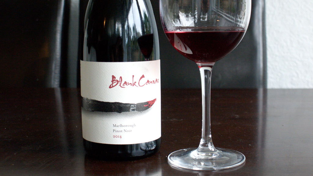 2015 Blank Canvas Pinot Noir — 97 Points Bob Campbell MW