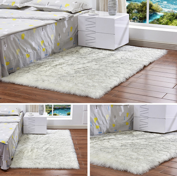 Faux fur  carpets for home living room 180*120