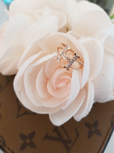 Rose gold ring for Woman stainless steel