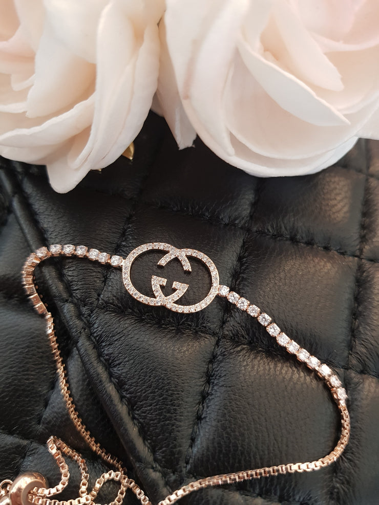 New!  Rose Gold Gucci Bracelet  stainless steel