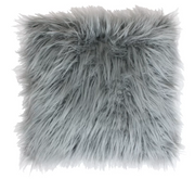 Faux Fur Throw Pillow