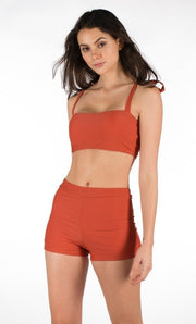 Two Piece Swimsuit Swimwear female Beachwear  ,maillot de bain orange