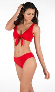 Stylish Swimsuit 2 pieces Red color