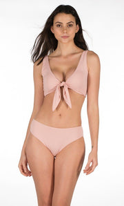 Stylish Swimsuit 2 pieces Baby Pink