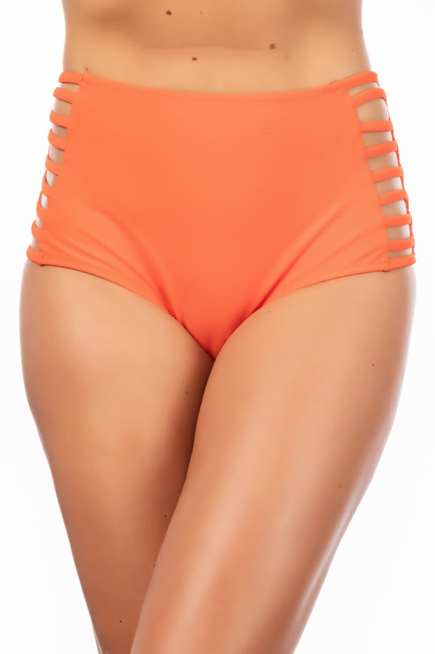 Woman Sexy Swimwear orange Beachsuit Maillot De Bain Femme