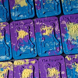 Tarot Card Bath Bomb: The Emperor