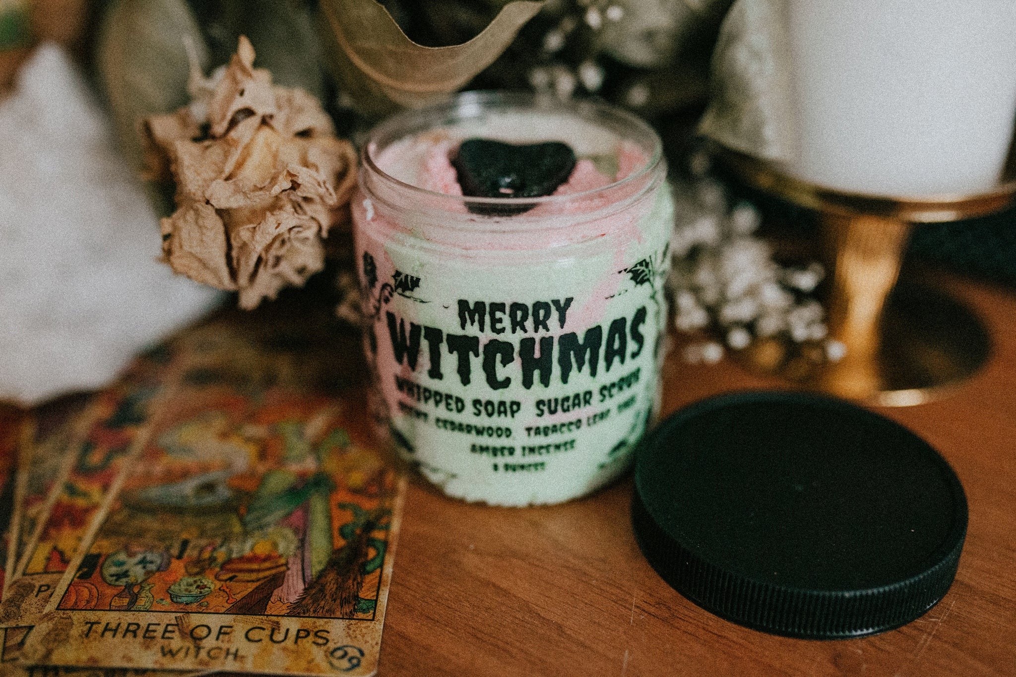 Merry Witchmas whipped soap sugar scrub