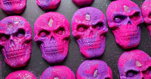 Crystal Skull Bubble Bar