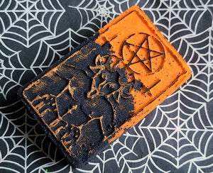Halloween Edition: Devil Tarot bath bomb