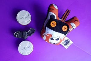 Nightmare Before Christmas Plush Ornament and Bath Melt Gift Set