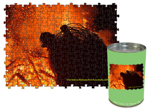 "Set 1  ""Fire""--  12""x16"", 142-piece borderless matboard puzzle"