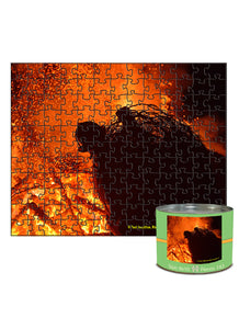 "Set 1  ""Fire""--  8""x10"", 143-piece matboard puzzle"
