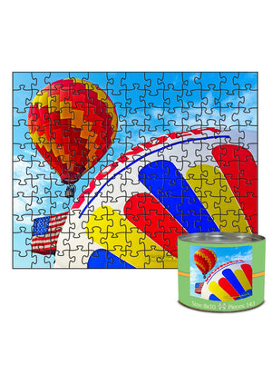 "Set 1  ""Wind""--   8""x10"", 143-piece matboard puzzle"