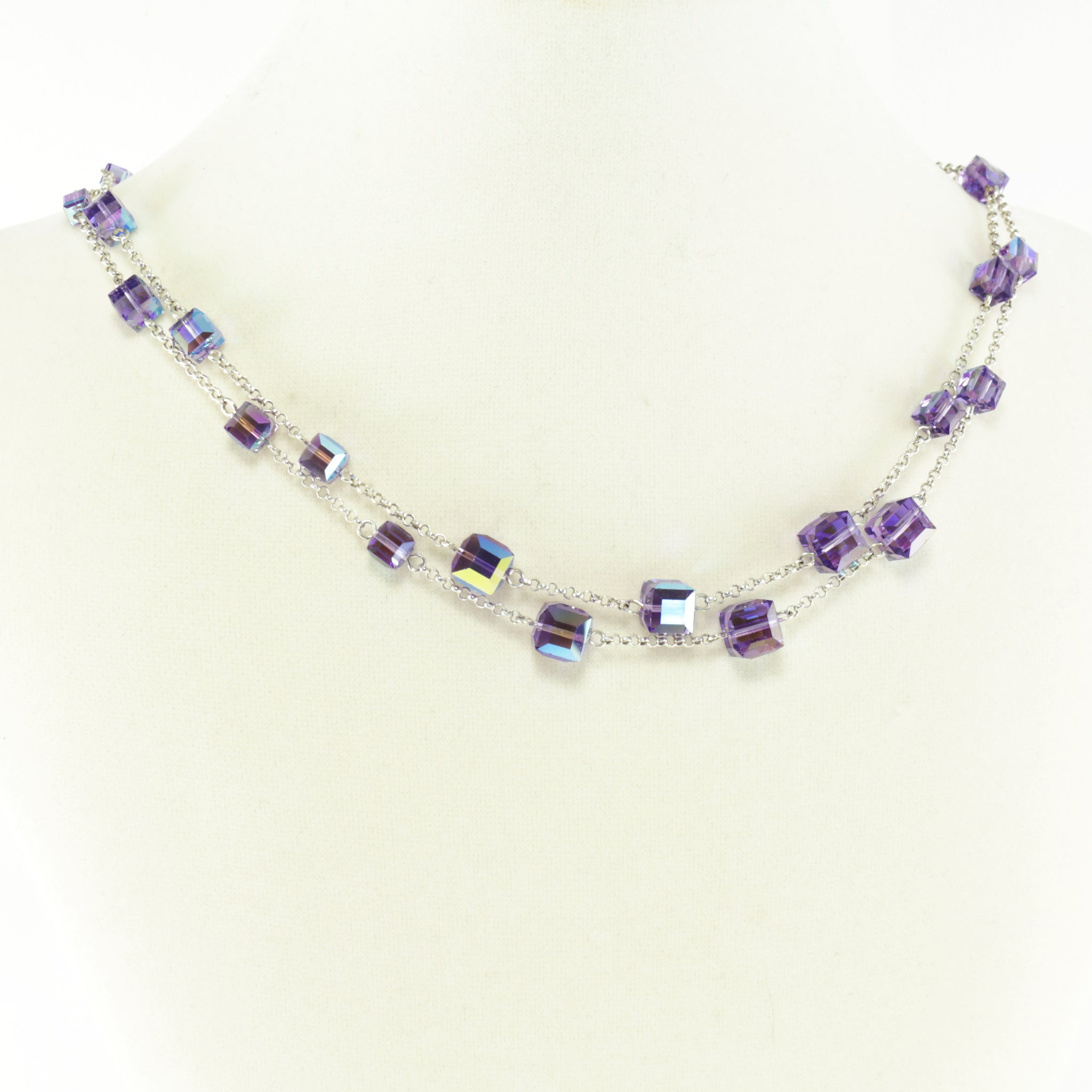 Windows Change-ABLE Necklace in Tanzanite AB