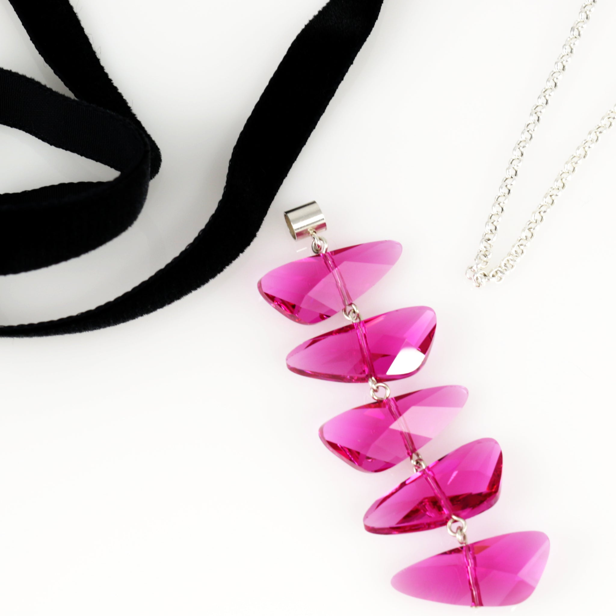 Reflections Set in Fuchsia