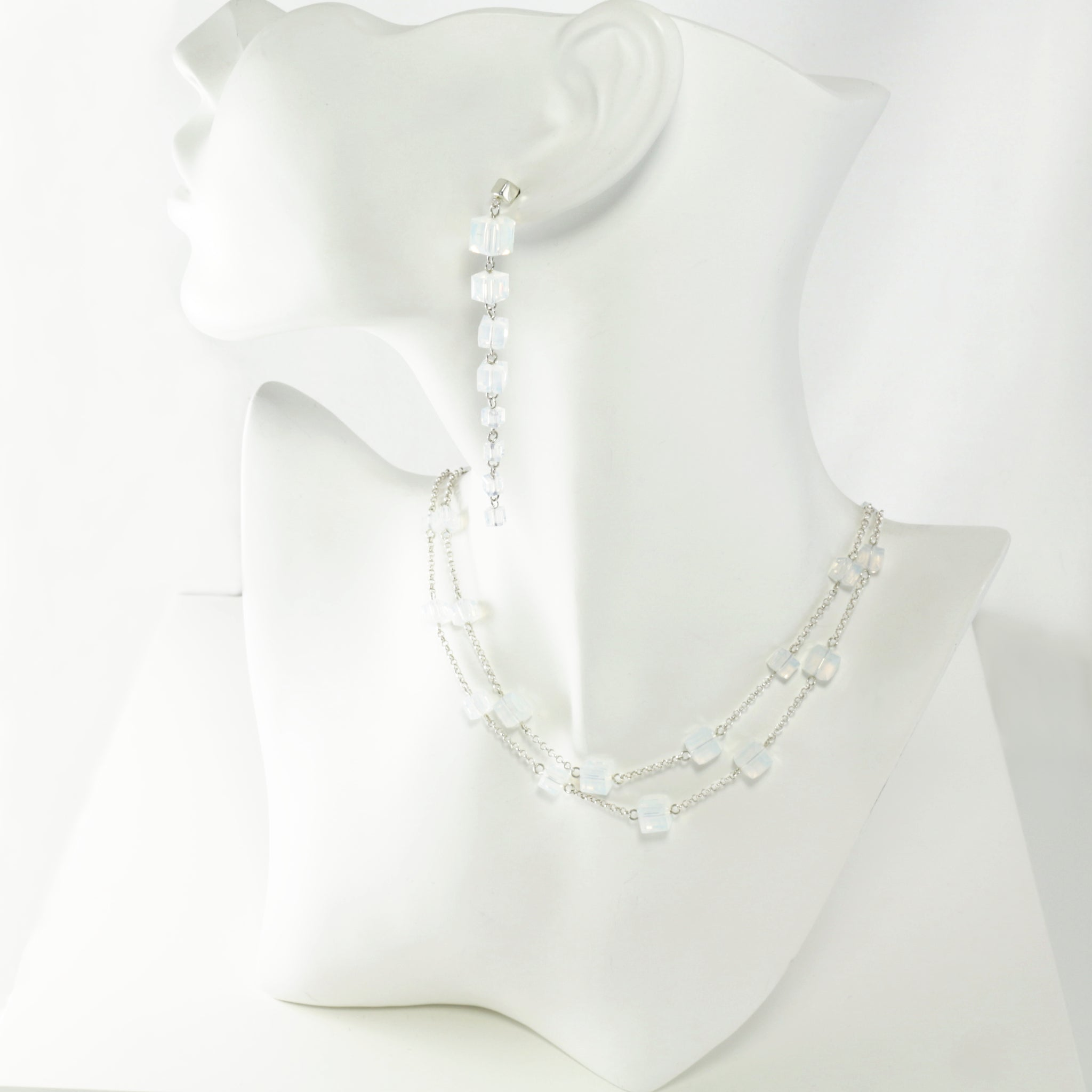 Windows Change-ABLE Necklace in White Opal