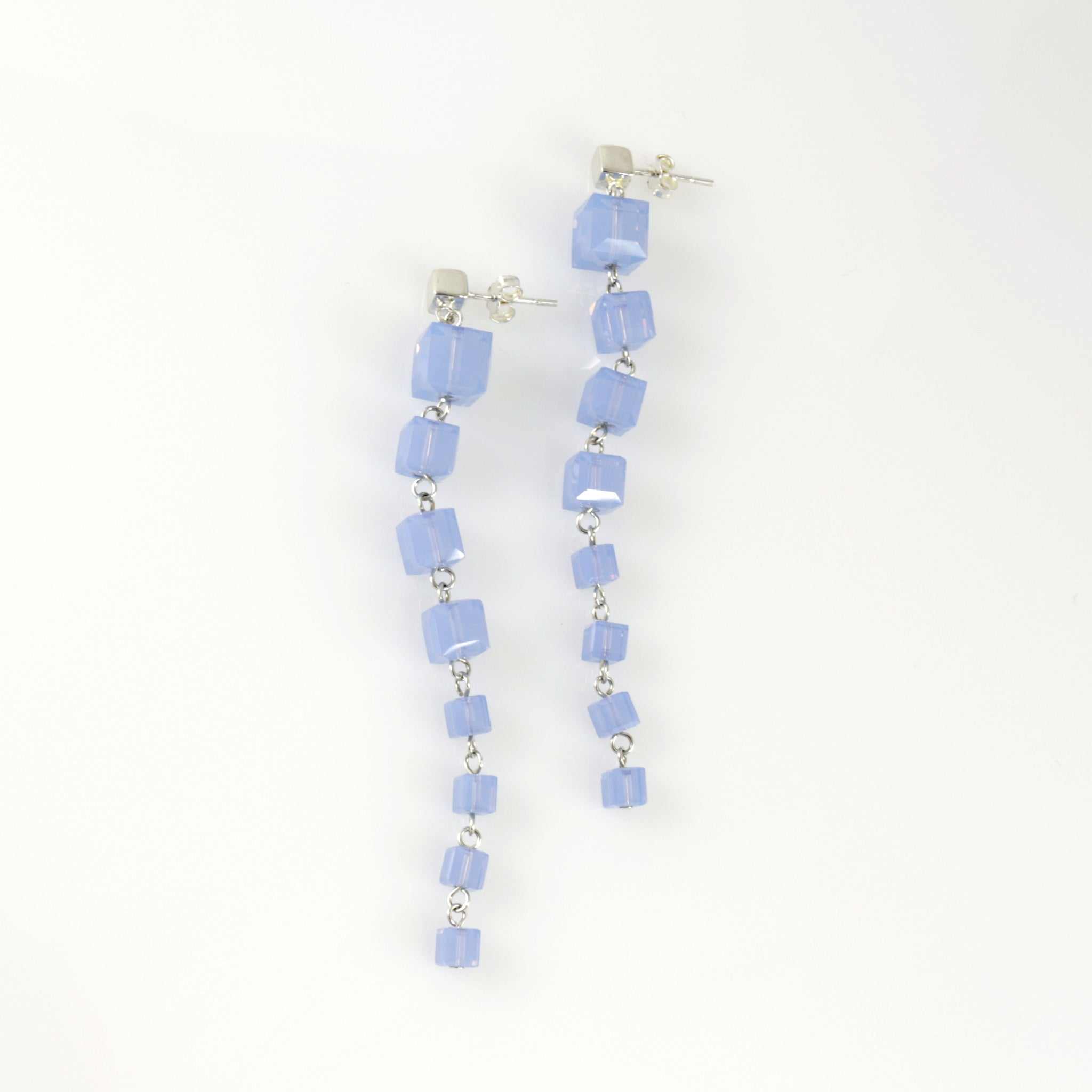 Windows Earrings in Air Blue Opal