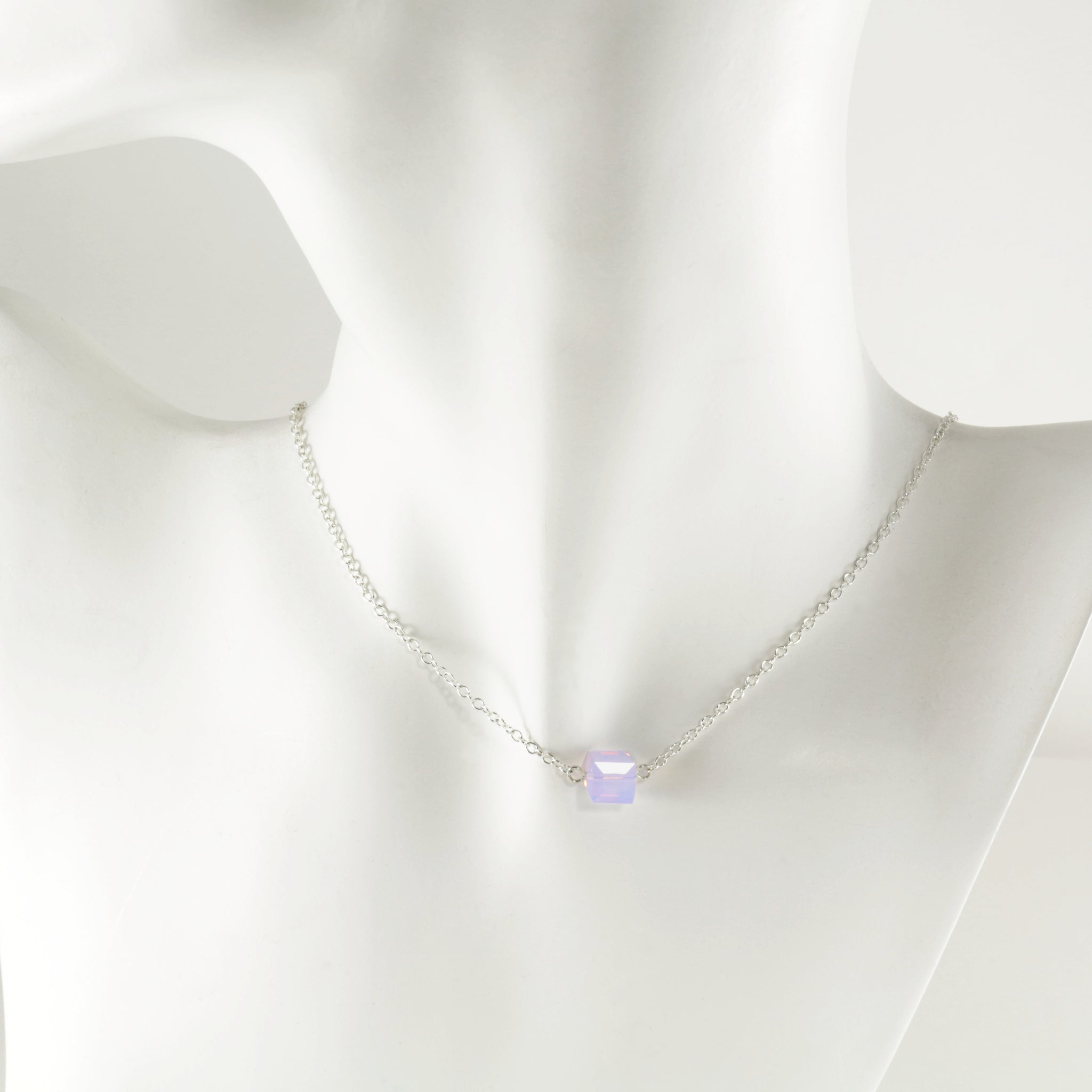 Windows Single Necklace in Silver