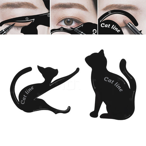 Eyeliner Stamps and Cat Eye Line Shapers - 3 Styles