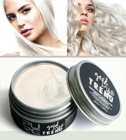 White Instant Temporary Hair Color