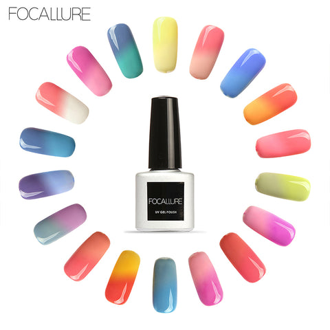 FOCALLURE Temperature Changing Color Nail Gel Polish -  30 colors