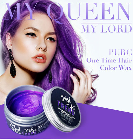 Purple Instant Temporary Hair Color